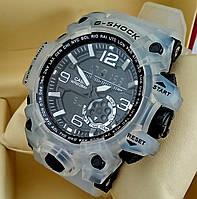 Спортивные наручные часы Casio G-Shock Meduza с прозрачным корпусом и ремешком, черный циферблат