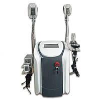 Аппарат 5 в 1:  Криолиполиз (2 ручки) + Липо лазер + Кавитация + вакуум + RF