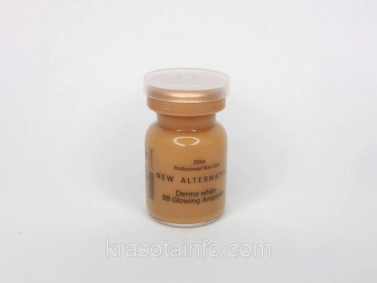 BB glow Zena № 25 treatment ББ мезо для процедуры биби глоу BB meso white skin, Zena, 5 мл