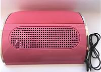 Вытяжка для маникюра розовая Nail Dust Collector 858-5, фото 1