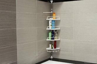 Угловая полка для ванной Multi Corner Shelf, органайзер для ванной комнаты