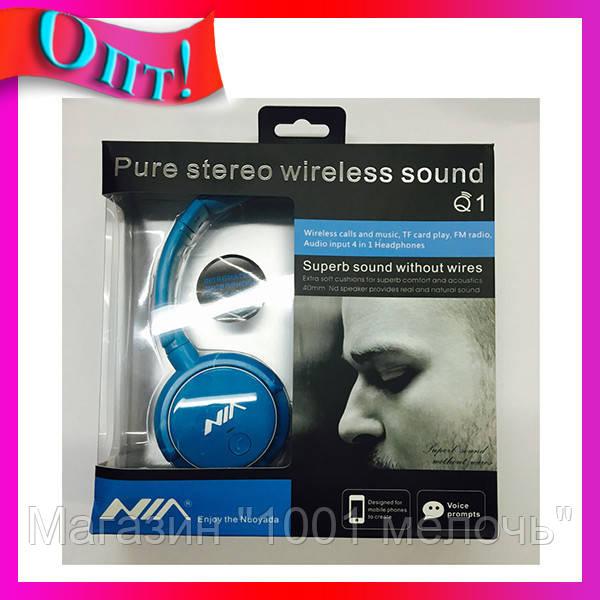 SALE! Наушники Bluetooth NIA Q1