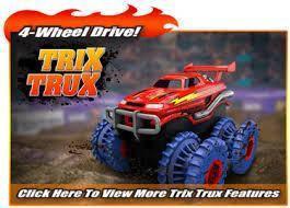 Веревочный трек Trix Trux
