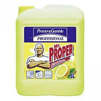 Средство для мойки пола с ароматом лимона Мистер Пропер - Mr. PROPER, 5 л.
