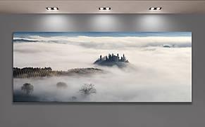 Фотокартина. Туманное утро в долине Валь Д'Орча