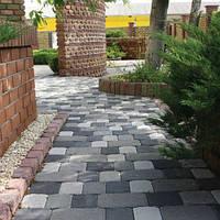 Тротуарная плитка Золотой Мандарин Старая площадь 6 см, серый