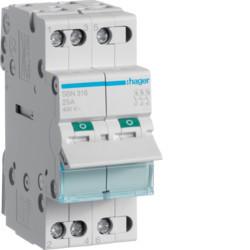Выключатель нагрузки 3-полюсный 25А/400В, 2м, Hager SBN325