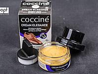 Крем для обуви ELEGANCE Coccine + комплект для очистки 50 мл, №06 (австралийский коричневый)