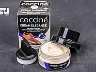 Крем для обуви ELEGANCE Coccine + комплект для очистки 50 мл, №07 (бежевый)