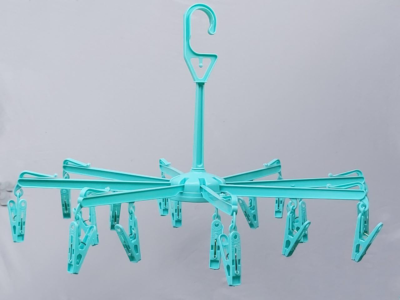 "Вертушка ""зонтик"" на 16 прищепок, диаметр 48 см"