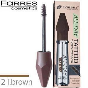 Farres - Корректор для бровей All-Day Tattoo Tinted EyeBrow 5.5ml Тон 02 light brown, фото 2