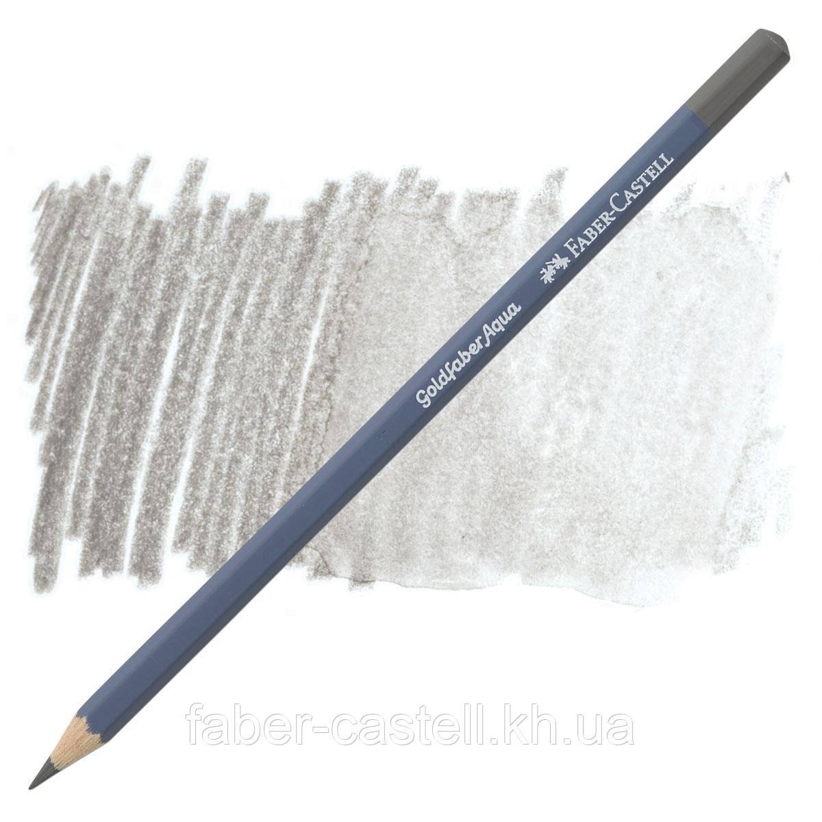 Карандаш акварельный Faber-Castell Goldfaber Aqua цвет теплый серый IV  № 273 (Warm Grey IV), 114695
