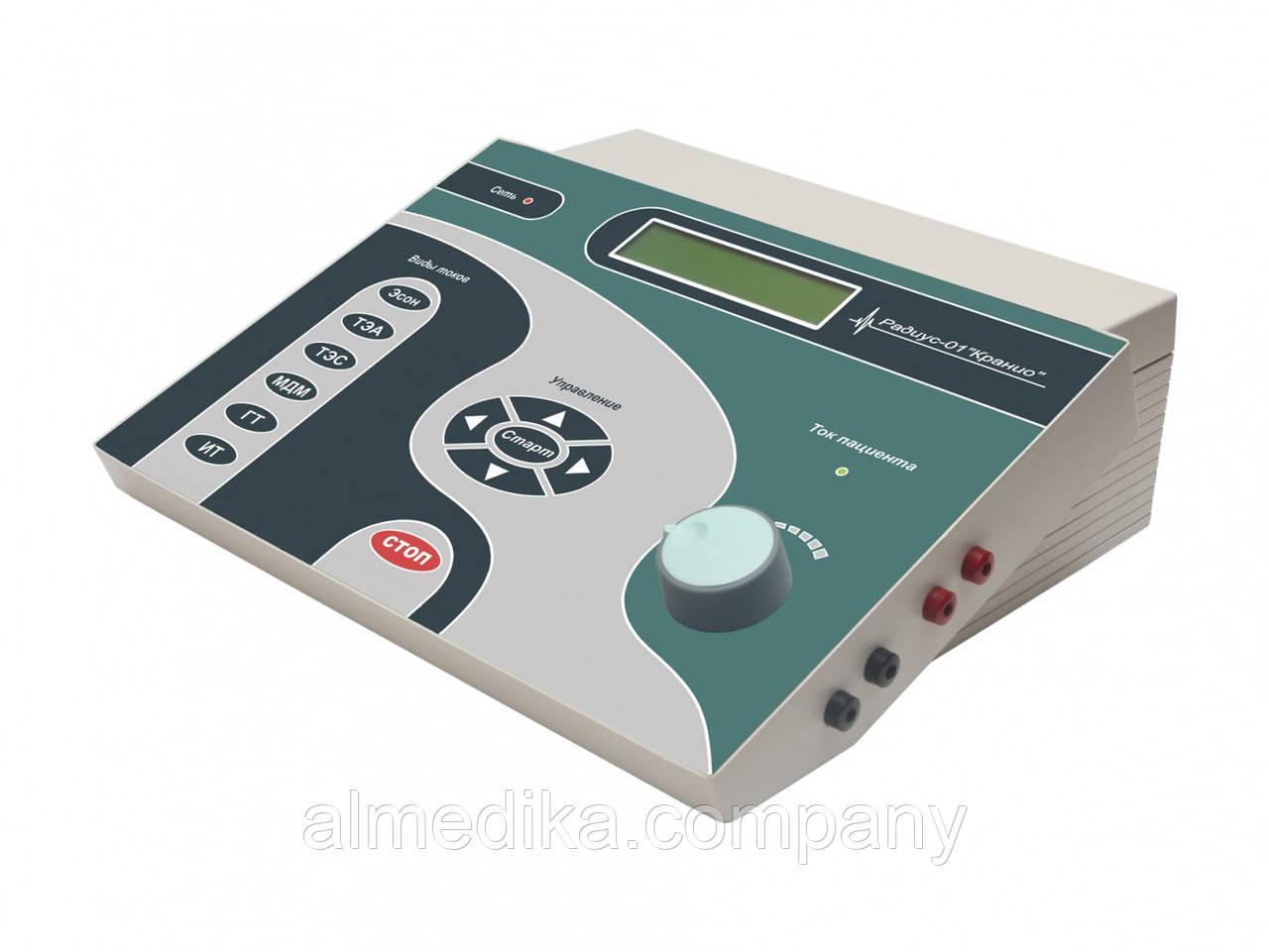 Апарат для електротерапії «Радіус-01» Краніо