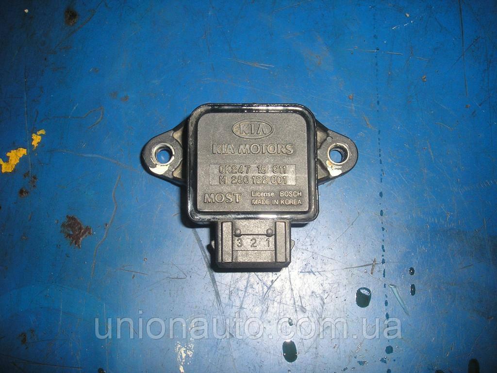 KIA SPORTAGE 1998 Дросельна заслінка OK24718911