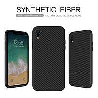 Карбоновый чехол для iPhone XR Nillkin Synthetic Fiber, фото 1