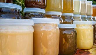Мед натуральный разнотравье 0,5 л. 2019 года, с собственной пасеки.