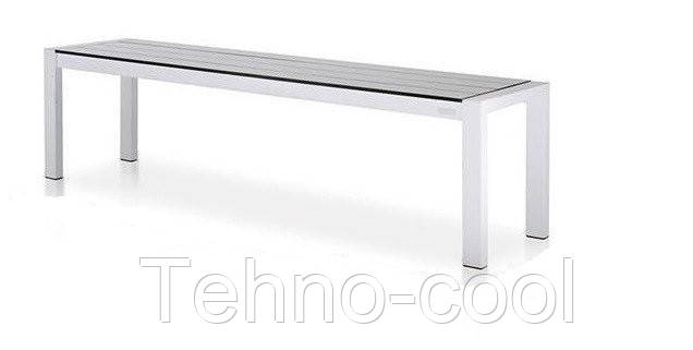 обеденная скамейка в стиле Loft 1000х400х450 Ns 967436216 белый