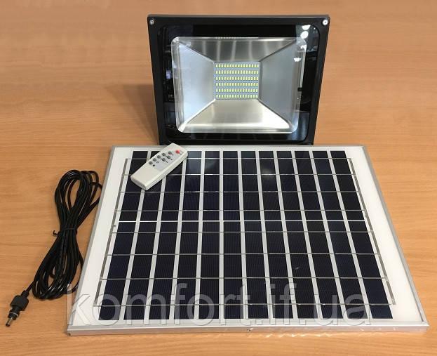 Уличный LED светильник с датчиком света и солнечной батареей YH-1850
