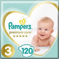 .Pampers. Подгузники Pampers Premium Care Box Размер 3 (Midi) 6-10 кг, 120 шт (465461)
