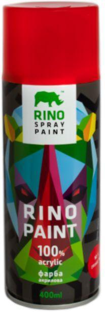 Универсальная акриловая аэрозольная краска Rino Paint (Красный RP-6)