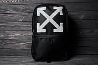 Рюкзак ОФФ-крестик черный синий 45х32х16, фото 1