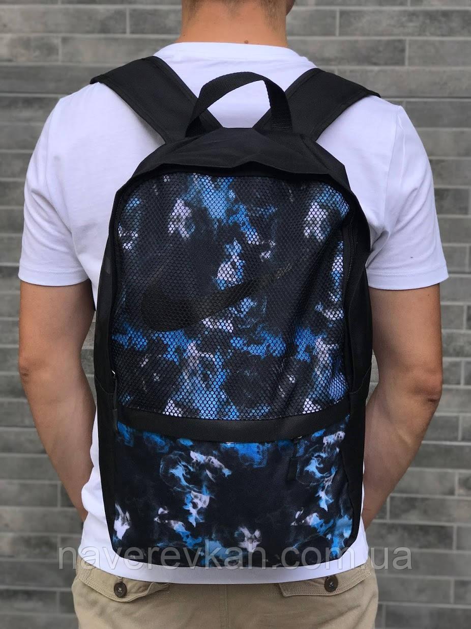 Рюкзак черный черно-синий черно-желтый черно-белый 42*29*14