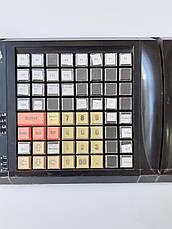Клавиатура кассира 63 клавиши. POS-клавиатура 255х195мм. Б/У, с кардридером, фото 3