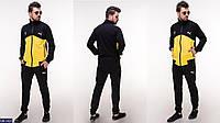 Мужской спортивный костюм черно-желтый черно-красный 46 48 50 52