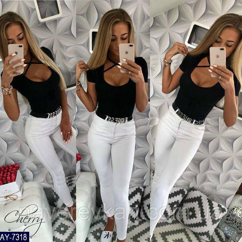 Женская блуза черная 42-44