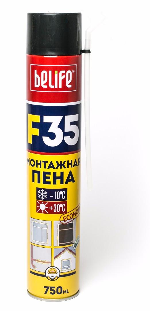 Бытовая монтажная пена BeLife F35 ECONOM