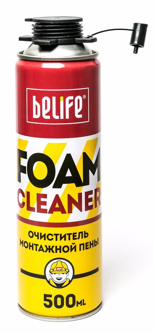 Очиститель монтажной пены Belife FOAMCLEАNER