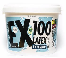 Фасадная латексная краска Latex Exterior EX100, 10л