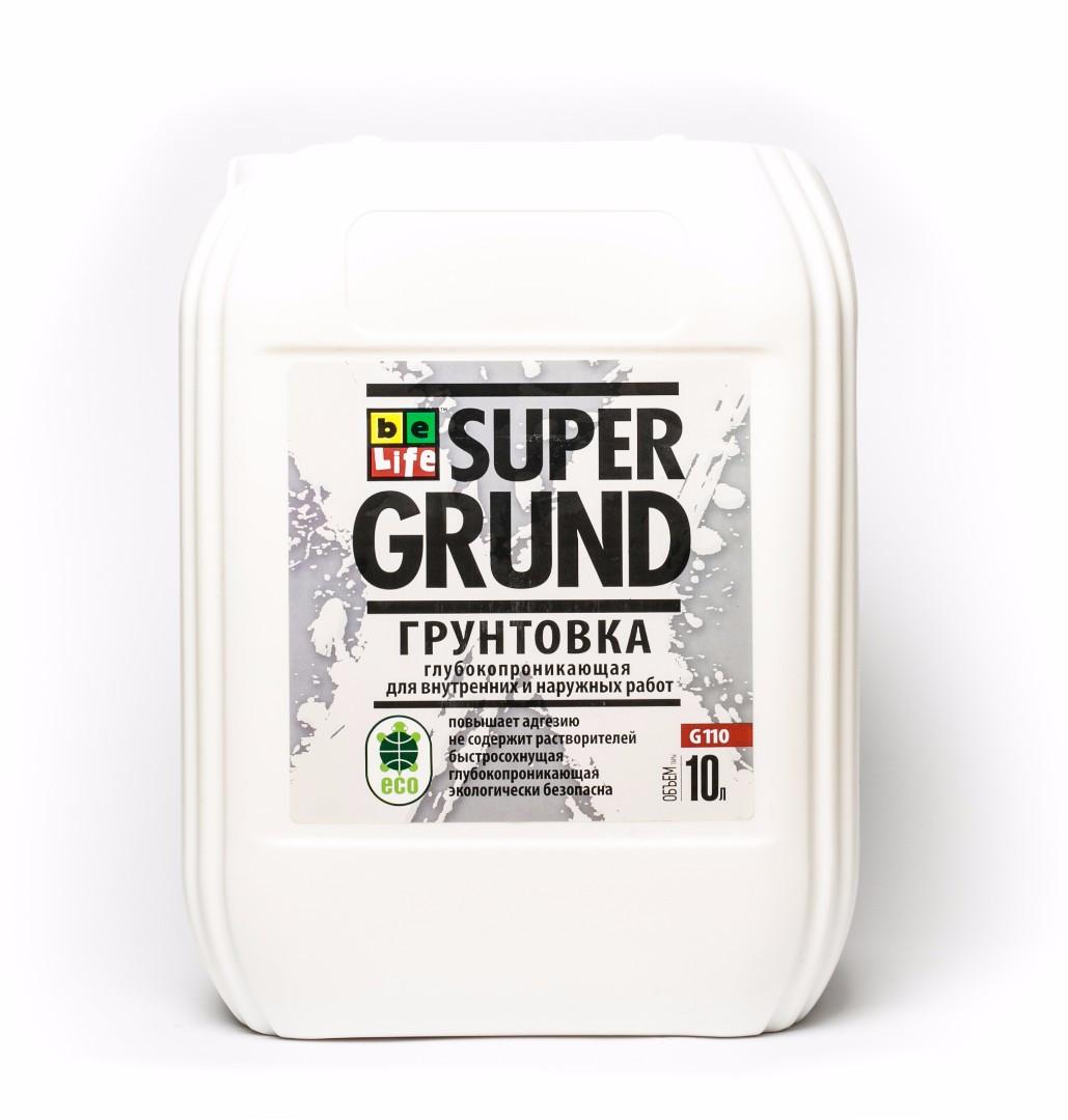 Грунтовка глубоко-проникающая Super Grund G110, 10л