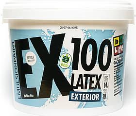 Фасадная латексная краска Latex Exterior EX100, 2,5л