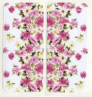Виниловая наклейка для iPhone 5/5s Цветы + заставка