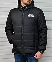 Мужская зимняя курточка The North Face черного цвета ,реплика