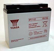 Аккумулятор для ИБП Yuasa 12V 17 Ач (NP17-12I)
