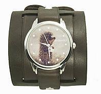 Наручные часы на эксклюзивном ремешке Ежик в тумане