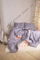 Комплект постельного белья Фламинго, поплин, разные размеры двуспальный
