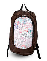 Рюкзак с фотопечатью Штампы