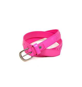 Модный женский кожаный ремень 5128 rose розовый