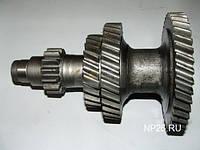 Блок шестерен вала промеж. КПП  (под гайку) ГАЗ-53, 3307, ПАЗ 3205. Пр-во СССР. Работаем с НДС