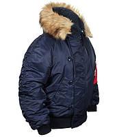 Куртка зимняя n-2b Blue  тм CHAMELEON,