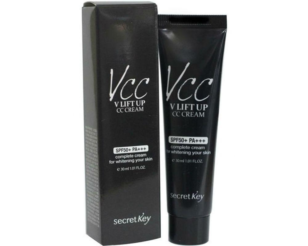 CC крем с лифтинг-эффектом Secret Key V-Line Lift Up CC Cream 30ml SPF50+ PA+++