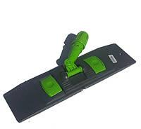 Пластиковая  основа (флаундер)  для мопов зеленая, 40 см. NP191-G