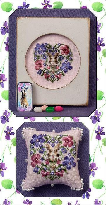 Схема для вишивки Heart of Spring Just Nan JN309