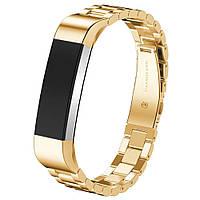 Ремешок Scram для Fitbit Alta HR Classic Gold (4231578770)