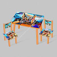 """Столик МИНИ """"Тобот"""" С 089  60-46 см. /столик + 2 стула/ (ОПТОМ)"""