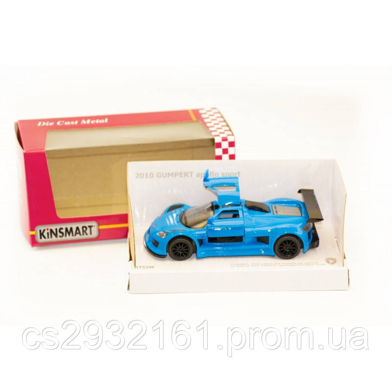 "KINSMART Мет. машина ""Gumpert Apollo Sport"""