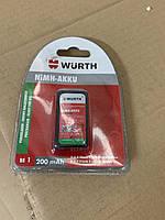 Аккумуляторная батарея Wurth тип крона